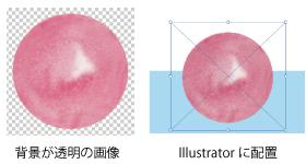 背景透明の画像