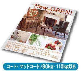 フライヤー・チラシ(コート・マットコート/90kg・110kg以外)