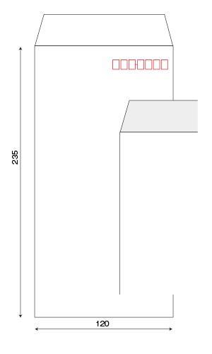 透けない長3・角2・洋長3封筒
