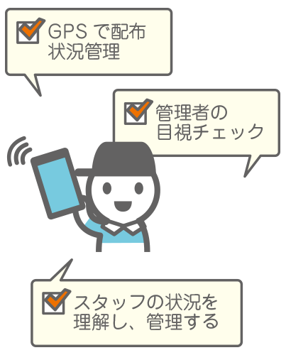 安心のチェック体制イメージ