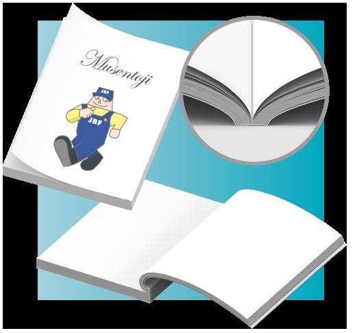 無線綴じ冊子イメージ